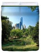 Central Park Ny Duvet Cover