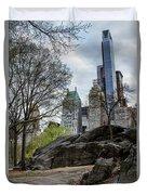 Central Park Views  Duvet Cover