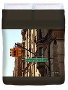 Central Park West Duvet Cover by Madeline Ellis