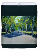Central Park,nyc Duvet Cover