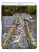 Centralia Graffiti Highway Duvet Cover