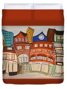 Centre Town Duvet Cover