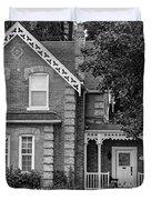Century Home - Bw Duvet Cover