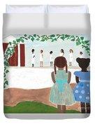 Ceremony In Sisterhood Duvet Cover