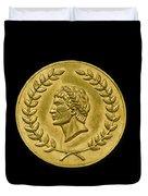 Julius Cesar Roman Coin Duvet Cover