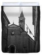 Cesena - Italy - The Cathedral 3 Duvet Cover
