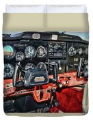Cessna Cockpit Duvet Cover