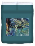 Cezanne: Annecy Lake, 1896 Duvet Cover