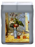Cezanne: Blue Vase, 1885-87 Duvet Cover