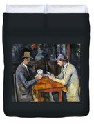 Cezanne: Card Player, C1892 Duvet Cover