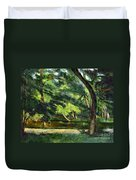 Cezanne: Etang, 1877 Duvet Cover