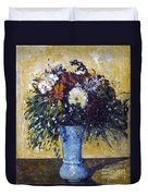 Cezanne: Flowers, 1873-75 Duvet Cover