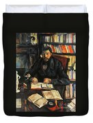 Cezanne: Geffroy, 1895-96 Duvet Cover