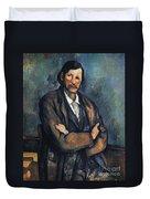 Cezanne: Man, C1899 Duvet Cover