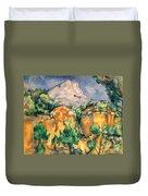 Cezanne: Sainte-victoire Duvet Cover