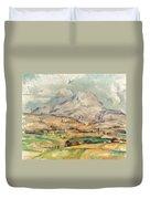 Cezanne: St. Victoire, 1897 Duvet Cover