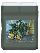 Cezanne: Still Life, C1888 Duvet Cover