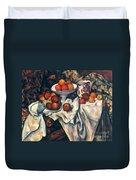 Cezanne: Still Life, C1899 Duvet Cover