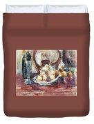 Cezanne: Still Life Duvet Cover