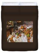 Cezanne: Table, 1888-90 Duvet Cover