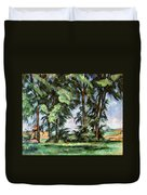 Cezanne: Trees, C1885-87 Duvet Cover