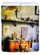 Cezanne's Studio Duvet Cover