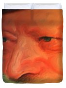Chabad Lubavitch Rebbe Duvet Cover
