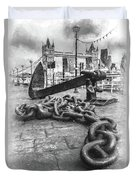 Chain And Anchor, Southwark Duvet Cover