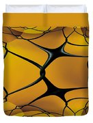 Chain Link Fractal Duvet Cover