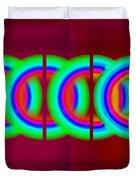 Chain Reaction Duvet Cover
