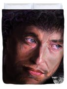 Chained To The Sky -  Bob Dylan  Duvet Cover