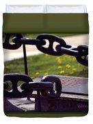 Chains Duvet Cover