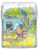 Chair, 27 September, 2015 Duvet Cover