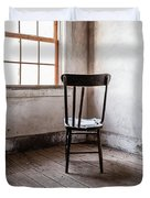 Chair By The Window Grafton Ghost Town Duvet Cover