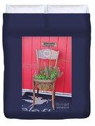 Chair Planter Duvet Cover