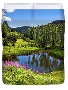 Chairi Lake Duvet Cover