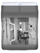 Chairs And Doors  Duvet Cover