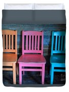 Chairs Duvet Cover
