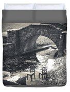 Chairs - Stone Bridge Duvet Cover