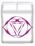 7 Crown Chakra Duvet Cover