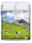 Chalets De Clapeyto # II - French Alps Duvet Cover