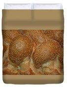 Challah Bread Duvet Cover