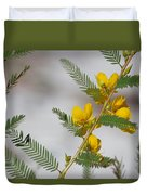Chamaecrista Fasciculata Sleeping Plant Partridge Pea Duvet Cover
