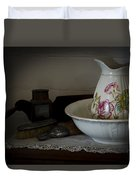 Chamber Pitcher With Basin 2 Duvet Cover