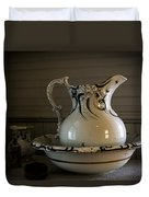 Chamber Pitcher With Basin 3 Duvet Cover