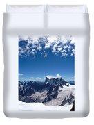 Chamonix Alpine View Duvet Cover