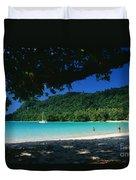Champagne Beach Duvet Cover