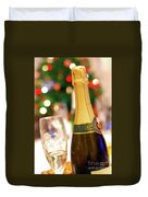 Champagne Duvet Cover by Carlos Caetano