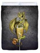 Champagne Dragon Duvet Cover