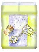Champagne Duvet Cover